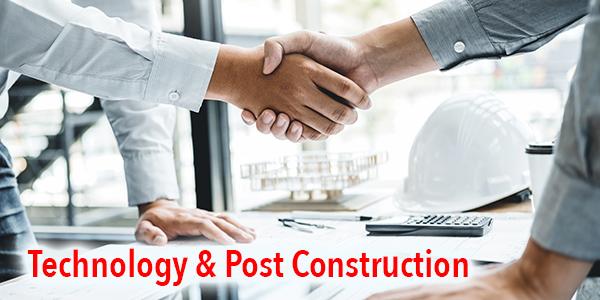 post-construction maintenance